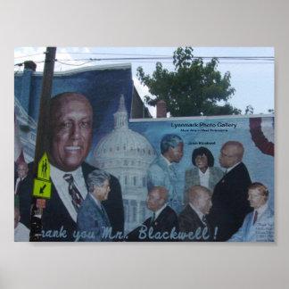 Poster mural de los artes de Philadelphia