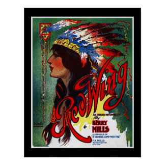 Poster Music Covers Red Wing Mills 1907 Print