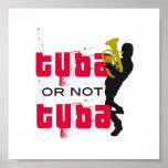 Poster - Music design - Tuba or not Tuba