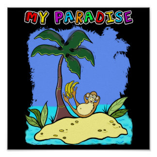 "poster ""my paradise"""
