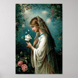 Poster: Mystical Rose Poster