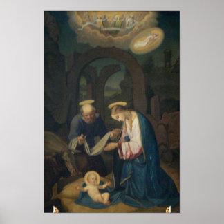 Poster: Nacimiento de Cristo Póster