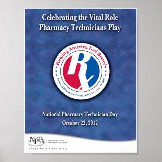 Poster nacional 2012 del día del técnico de la far