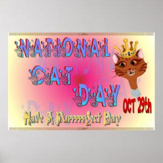 Poster nacional del día del gato