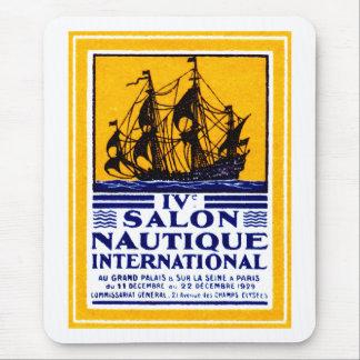 Poster náutico 1929 de la demostración de París Alfombrilla De Ratones