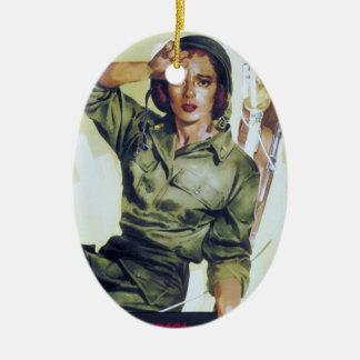 Poster necesario del reclutamiento de las ornamentos de navidad