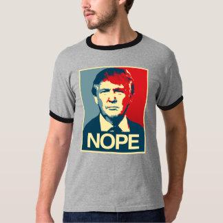Poster Nope - Donald Trump - Playera