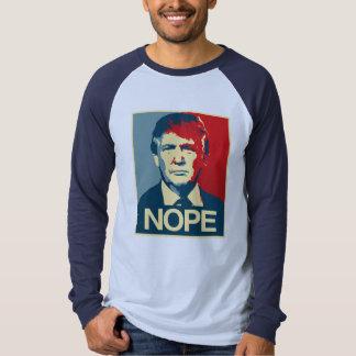 Poster Nope - Donald Trump - T-Shirt