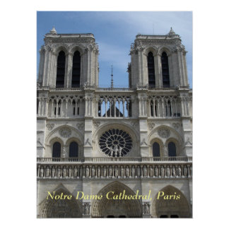 Poster--Notre Dame Cathedral Poster
