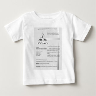 poster nutritional pyramid of the nutrition t-shirt