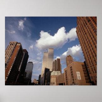 POSTER NYC~ en torres gemelas del ~ de Memoriam