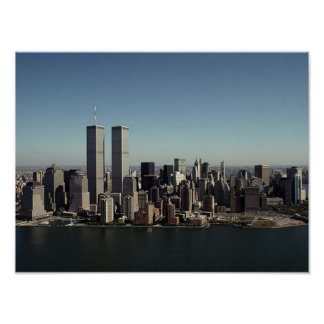POSTER NYC In Memoriam Twin Towers