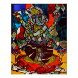 Poster o impresión de Ganesh