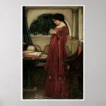 Poster o impresión de la bella arte del Waterhouse
