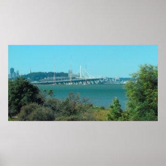 Poster - Oakland Bay Bridge 2013
