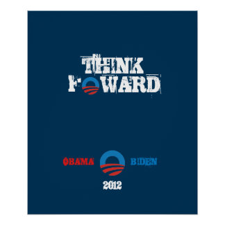 Poster Obama - Biden 2012 Think Forward