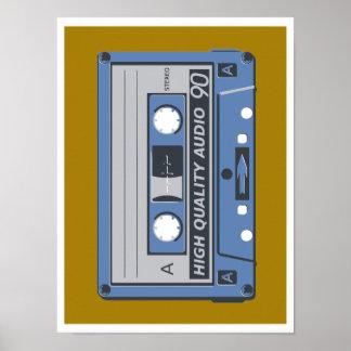 Poster of Cassette Tape