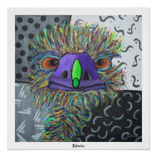 Poster of emu