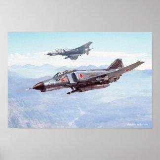 Poster of F-4E Phantom II / F-4EJ