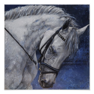 Poster of Grey Horse