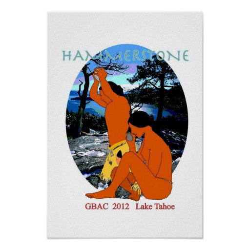 Poster of Hammerstone 2012 band logo