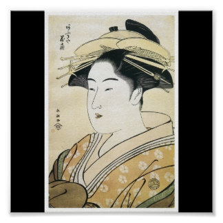 Poster of Japanese painting c. 1790