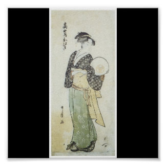 Poster of Japanese painting c. 1792
