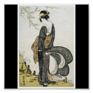 Poster of Japanese painting c. 1805