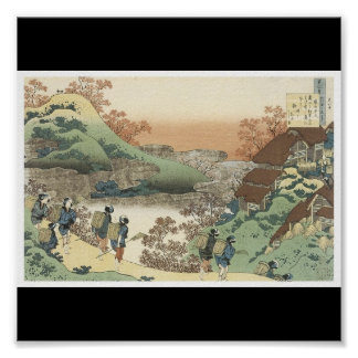 Poster of Japanese painting c. 1835-36