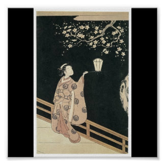Poster of Japanese Painting c. late 1760's