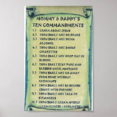 10+commandments+for+children+uk