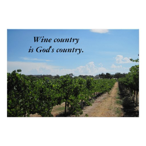 Poster Of Paso Robles Wine Country Zazzle