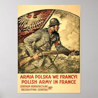 Poster of polish propaganda during WW1