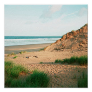 Poster of Rhossili Beach, The Gower, Wales