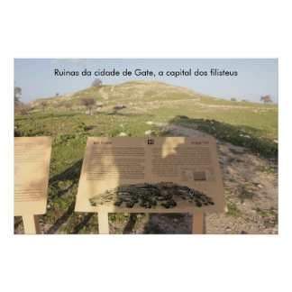 Poster of the Biblical City of Gate