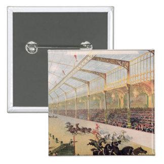 Poster of the Hippodrome de l'Alma Pinback Button