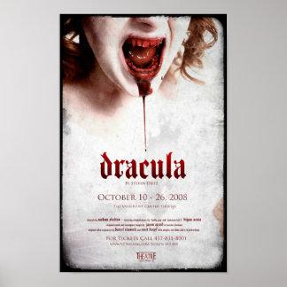 Poster oficial 1 de Drácula - 11x17 con el corrimi