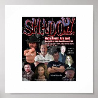 Poster oficial 2009 de la estafa de la sombra