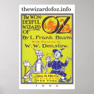 Poster oficial de thewizardofoz.info póster