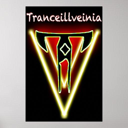Poster oficial de Tranceillveinia (24x36)