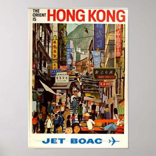 Poster Oriente del viaje del vintage