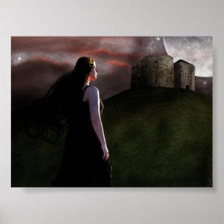 """Poster original de la """"fantasía"""" por el mDarkPoet"""