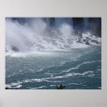Poster original de la fotografía de Niagara Falls