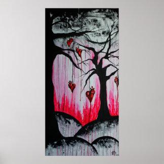 Poster original del arte de los altos - y - árbole