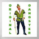 Poster original del gángster de Robin Hood
