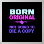 Poster original nacido