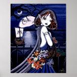 """Poster oscuro del mundo terrenal de """"Persephone"""""""