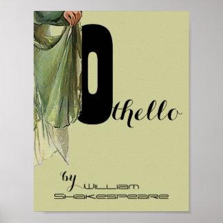 Poster Othello William Shakespeare del juego del