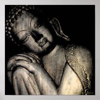 Poster pacífico de Buda