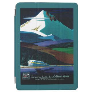 Poster pacífico occidental del vintage del Zephyr Cubierta De iPad Air